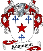 Adamson Family Crest / Adamson Coat of Arms JPG Download