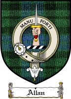 Allan Clan Badge / Tartan FREE preview