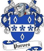 Purves Family Crest / Purves Coat of Arms JPG Download
