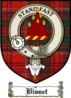 Bisset Clan Badge / Tartan FREE preview