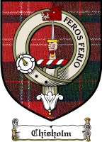 Chisholm Clan Badge / Tartan FREE preview
