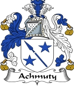 Achmuty Family Crest / Achmuty Coat of Arms JPG Download