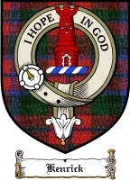Kenrick Clan Badge / Tartan FREE preview