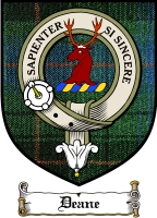Deane Clan Badge / Tartan FREE preview