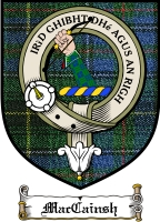 Maccainsh Clan Badge / Tartan FREE preview