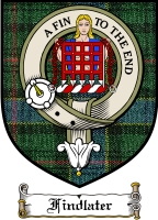 Findlater Clan Badge / Tartan FREE preview