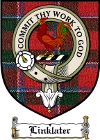 Linklater Clan Badge / Tartan FREE preview