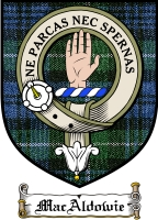 Macaldowie Clan Macgregor Clan Badge / Tartan FREE preview
