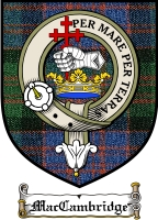 Maccambridge Clan Badge / Tartan FREE preview