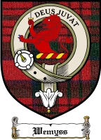 Wemyss Clan Wemyss Clan Badge / Tartan FREE preview