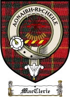 Macclerie Clan Badge / Tartan FREE preview