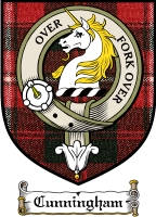Cunningham Clan Badge / Tartan FREE preview