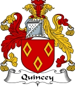 Quincey Family Crest / Quincey Coat of Arms JPG Download
