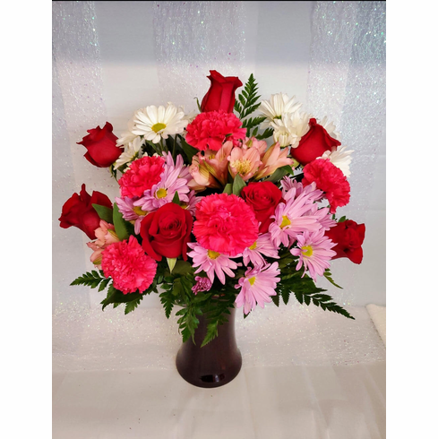 Roses With Carnations #2