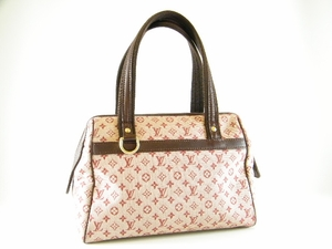 Authentic Louis Vuitton Cherry Red Mini Monogram Josephine PM Leather Bag Handbag purse (CLEARANCE) (SOLD!)