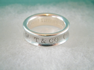 AUTHENTIC TIFFANY & CO STERLING SILVER 1837 RING SZ 6 (Clearance) (SOLD!)