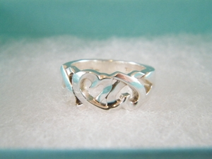AUTHENTIC TIFFANY & CO STERLING SILVER 1837 RING SZ 4 /4.5 (Clearance) (SOLD!)