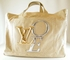 """Rare! Authentic Louis Vuitton Limited Edition Beige Cabas Toile """"That's Love"""" GM Canvas Extra Large Tote Handbag Travel Bag"""
