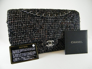 c8f4a5dd12bd Authentic NEW  3000 Limited Ed 2.55 Chanel Black Tweed handbag (SOLD!)