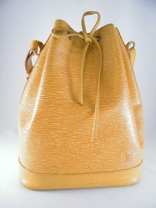 Authentic Louis Vuitton Yellow Epi Noe Large Bucket Should Bag (CLEARANCE) (SOLD!)