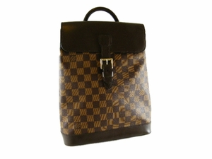 Authentic Louis Vuitton Damier Soho Backpack Leather Bag (SOLD!)