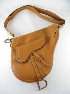 Authentic JUMBO Christian Dior Brown SADDLE Bag $2400 (CLEARANCE)
