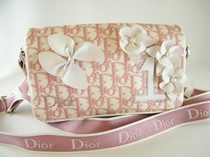 Authentic Christian Dior Large Pink Girly Boston Reporter Messenger Bag (CLEARANCE) (SOLD!)