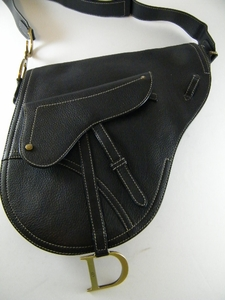 Authentic JUMBO Christian Dior Black SADDLE Bag $2400 (CLEARANCE) (SOLD!)