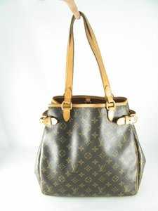 Authentic Louis Vuitton Large Batignolles Monogram Leather Handbag Bag Tote Purse (Clearance)