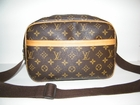 Authentic Louis Vuitton Monogram PM Reporter Messenger Leather Handbag Bag Purse (CLEARANCE)