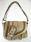 Authentic Christian Dior Gaucho Bag Metallic (Clearance)