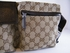 Authentic Gucci Monogram Brown Fanny Belt Waist Bag Handbag