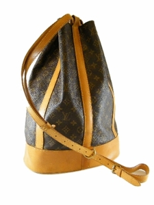 Authentic Louis Vuitton Large GM Monogram Randonnee Backpack Leather Travel Bag (CLEARANCE)
