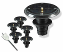 5 Piece Solar Deck Light Set