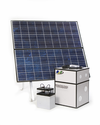 1250 Watt Solar Generator with 2 - 150 Watt Solar Panels