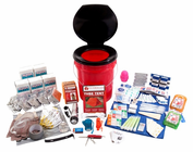 5 Person Deluxe Home and Office Survival Kit
