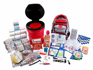 10 Person Deluxe Home and Office Survival Kit