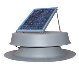 Solar Attic Fan - 10 Watt 1200 sq. ft.