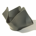 Votive Holder - GRAPHITE - Recycled Glass Candle Holder