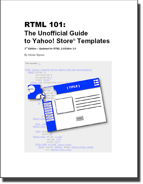 Rtml 101 The Unofficial Guide To Yahoo Templates Ebook