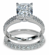 Diamond Quality Cubic Zirconia Bridal Sets And Wedding Ring Sets!