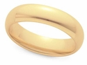 Men's 6mm Comfort Fit Wedding Band in 14K Gold