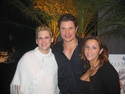 Nick Lachey with Ziamond's VIP Staff Members