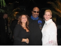 Stevie Wonder with Ziamond VIP Staff Members