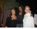 Ananda Lewis with Ziamond VIP Staff Members