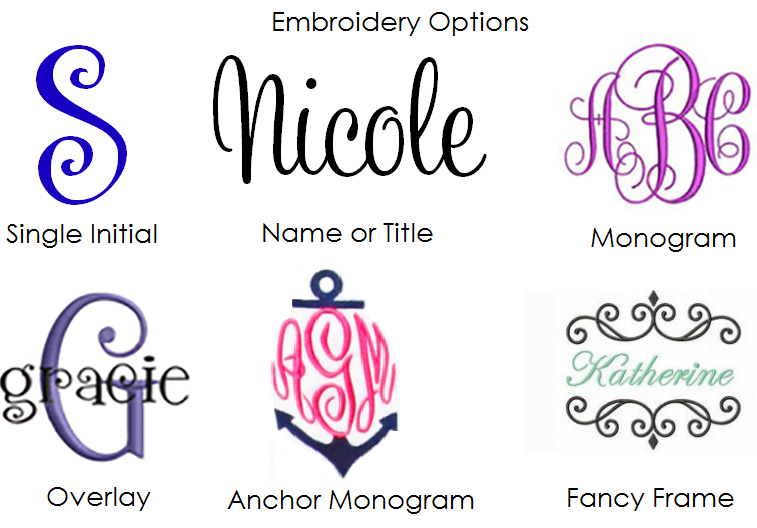 12c05d7f8b Monogrammed Beach Towels Tied with Bow - Personalized Beach Towels ...