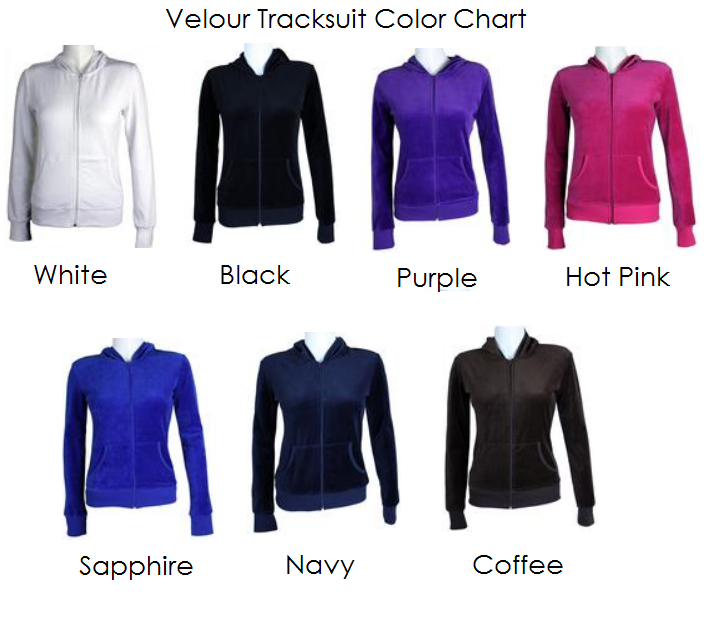 Set of Personalized Bride and Groom Velour Tracksuits - Bride ...