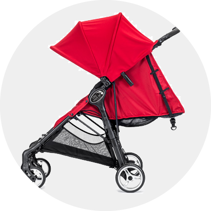 Baby Jogger City Mini Zip Stroller Red
