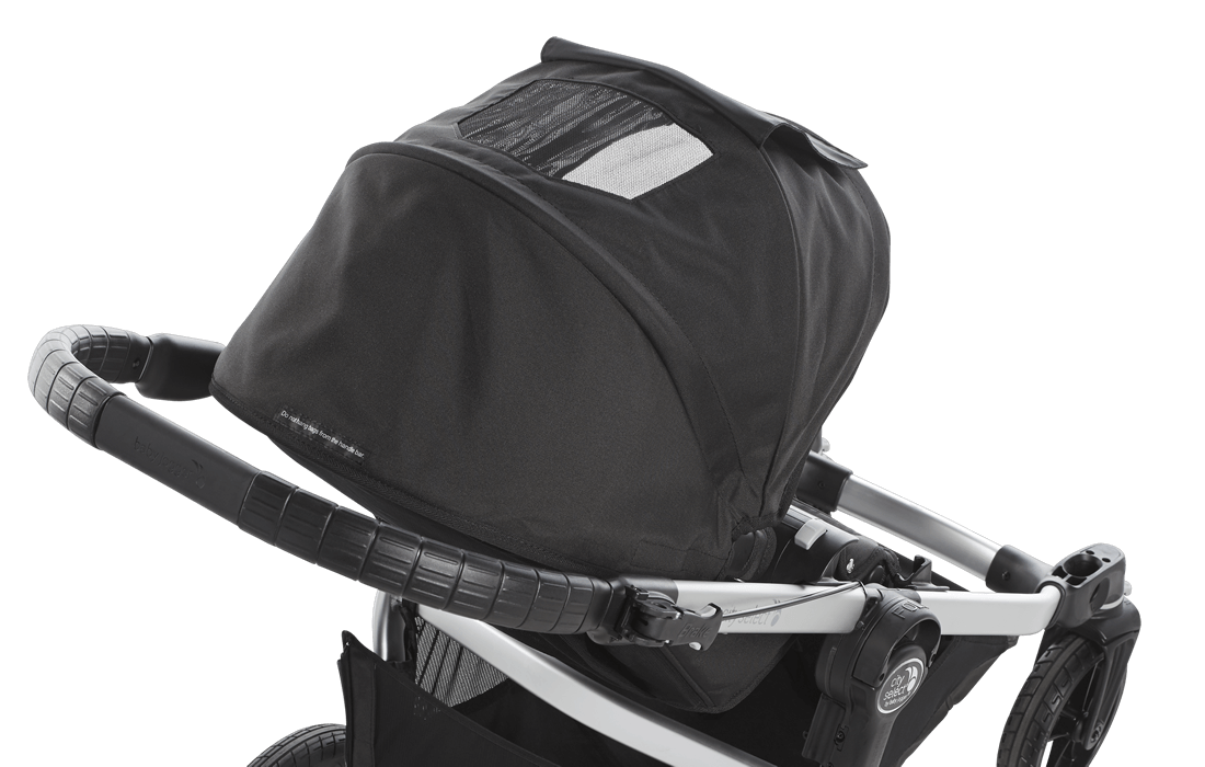 Baby Jogger City Select Single Stroller Gray Black