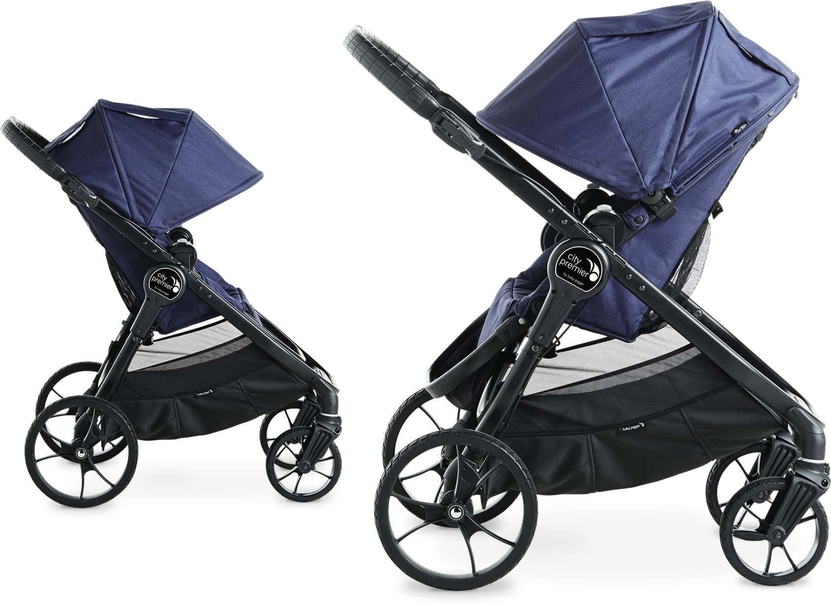 Configurations With 5 different riding options City Premier makes it easy to explore the world to her The reversible seat can be parent facing so mom